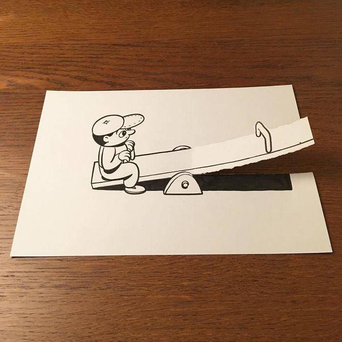 3d-paper-art-huskmitnavn-1-586a30e9c8961__700