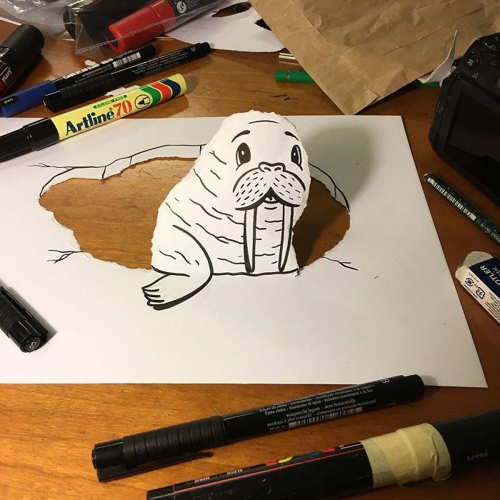 3d-paper-art-huskmitnavn-31-586a3126e5d0d__700